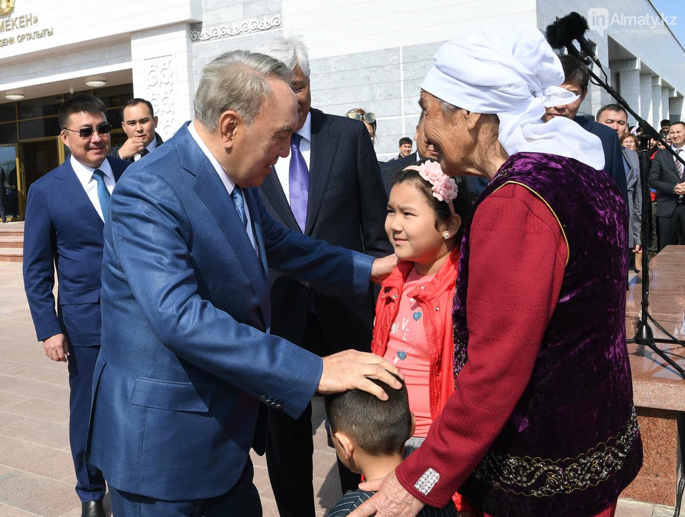 О чем разговаривал Назарбаев с жителями Шамалгана, фото-2