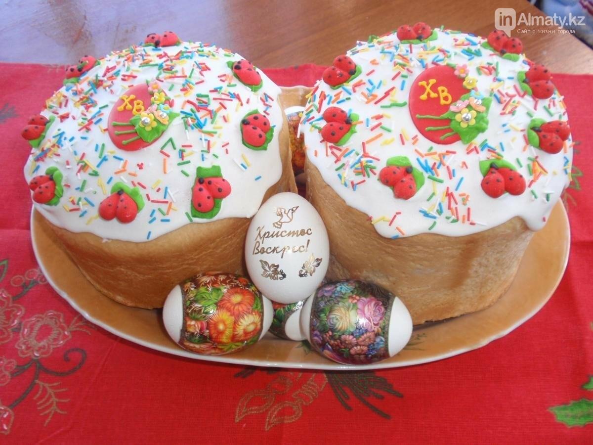Где купить пасхальные куличи в Алматы, фото-2