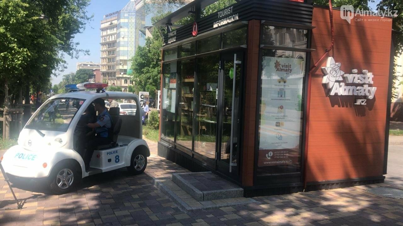Полицейские Алматы будут разъезжать в парках на минимобиле (ФОТО), фото-2