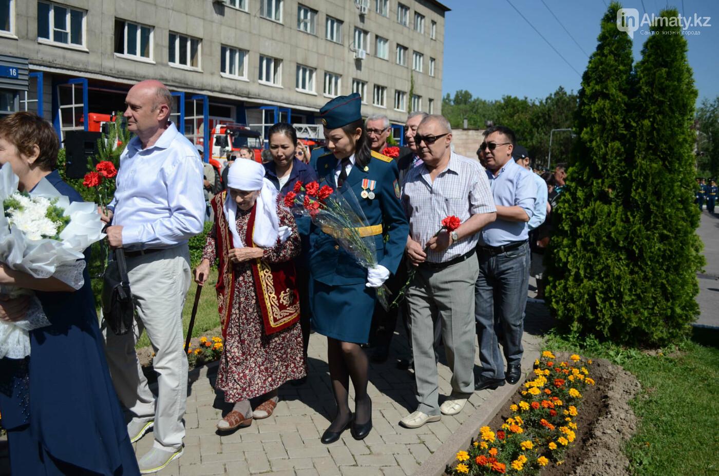 В Алматы почтили память пожарных героически погибших 30 лет назад , фото-13