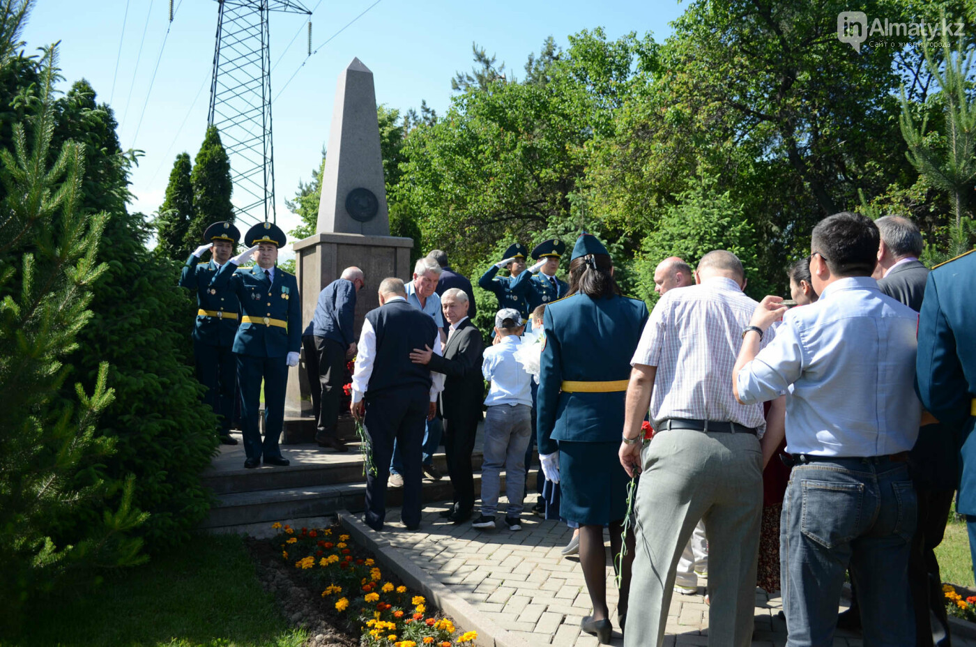 В Алматы почтили память пожарных героически погибших 30 лет назад , фото-14