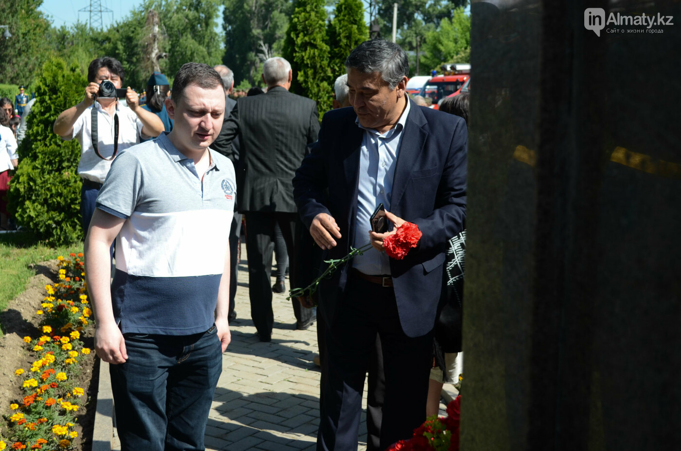 В Алматы почтили память пожарных героически погибших 30 лет назад , фото-10