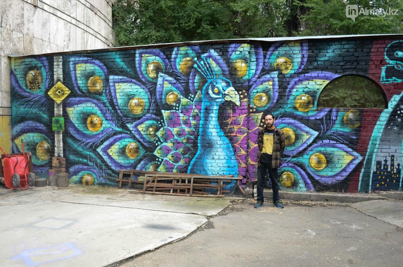 «Рисовать на фасаде бывает страшно»: художник Мухит Дулу о работе на фестивале муралов, фото-1