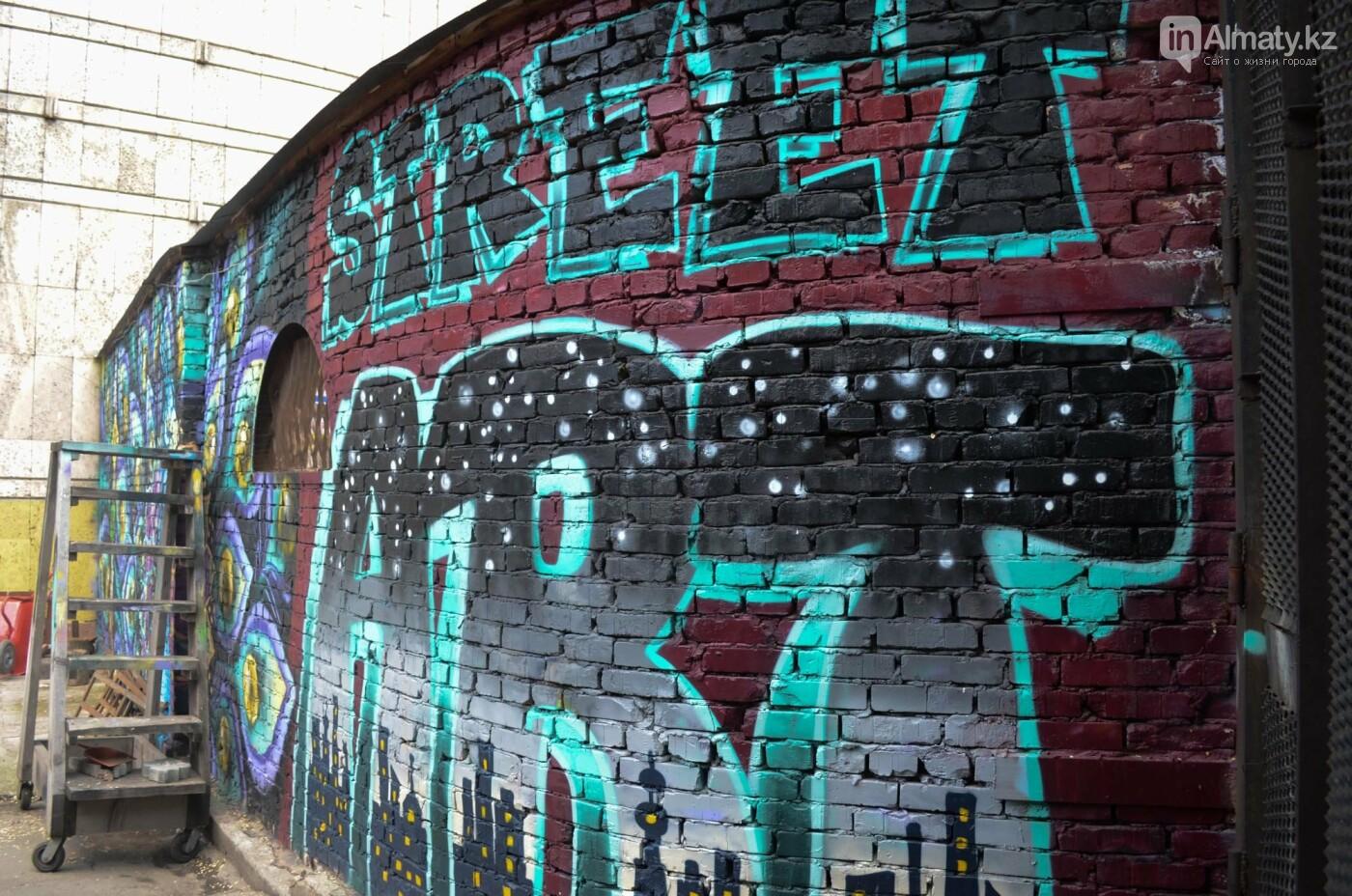 «Рисовать на фасаде бывает страшно»: художник Мухит Дулу о работе на фестивале муралов, фото-9