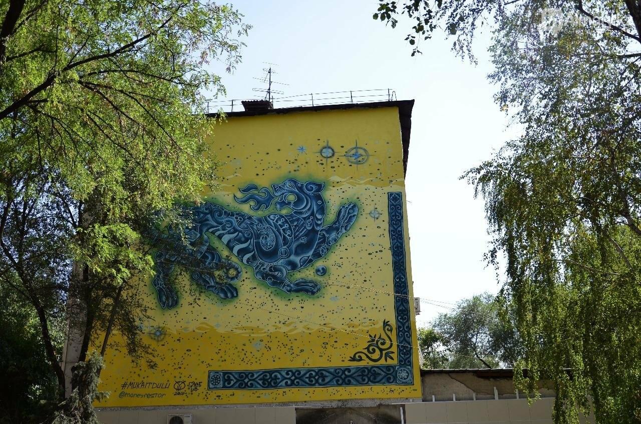 «Рисовать на фасаде бывает страшно»: художник Мухит Дулу о работе на фестивале муралов, фото-5