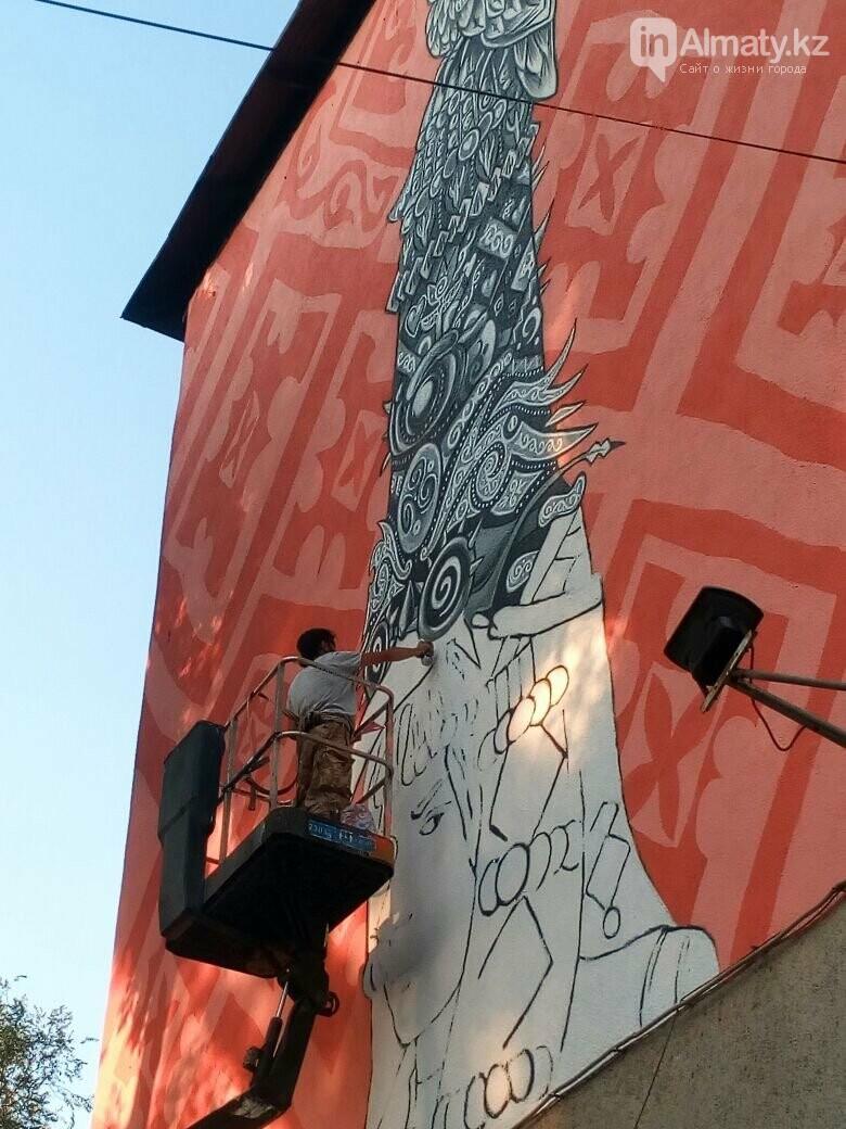 «Рисовать на фасаде бывает страшно»: художник Мухит Дулу о работе на фестивале муралов, фото-3