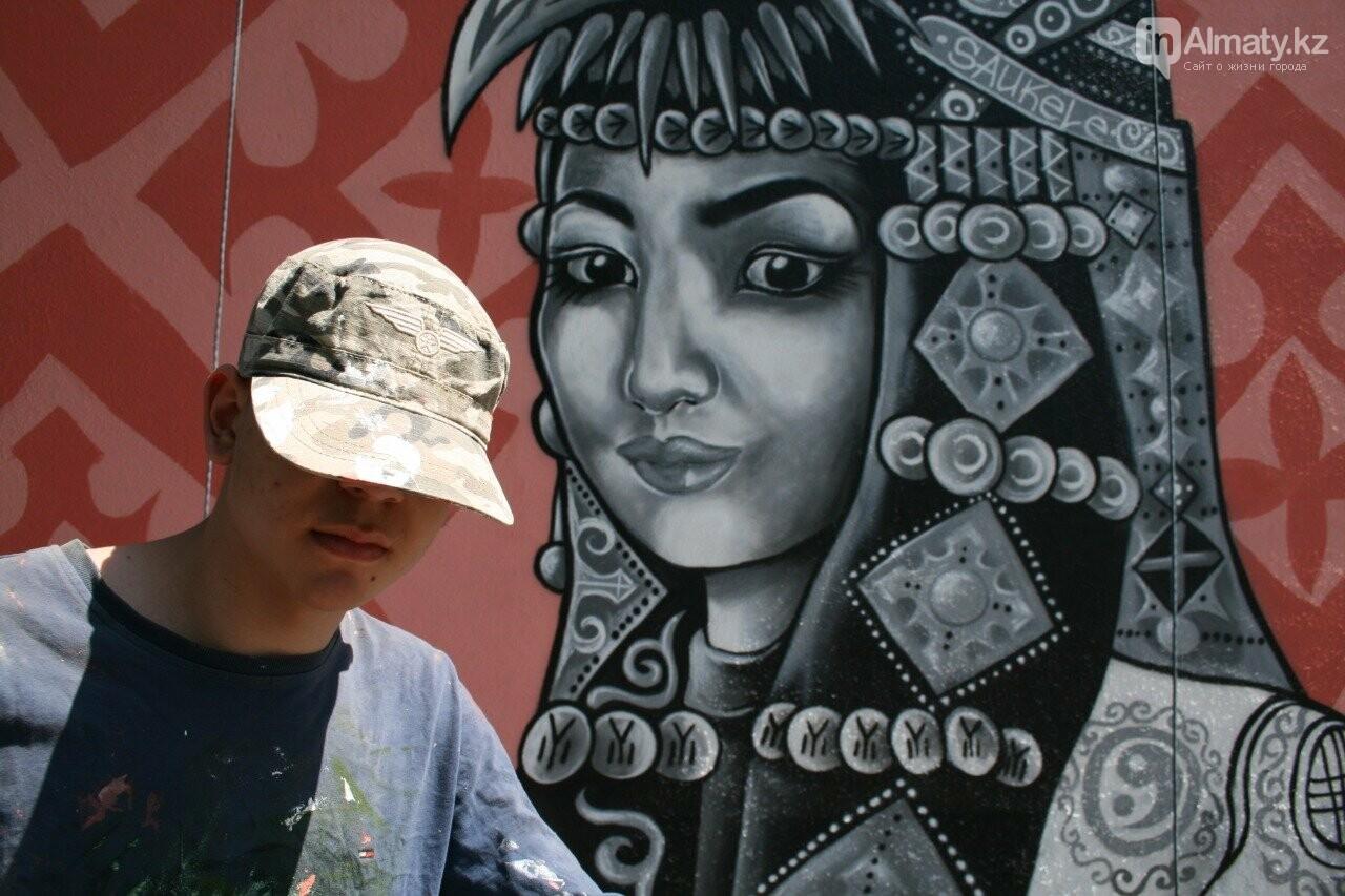 «Рисовать на фасаде бывает страшно»: художник Мухит Дулу о работе на фестивале муралов, фото-4