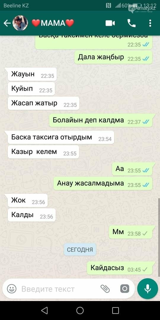 Писал СМС от её имени: Таксист признался в убийстве пассажирки в Алматинской области, фото-3