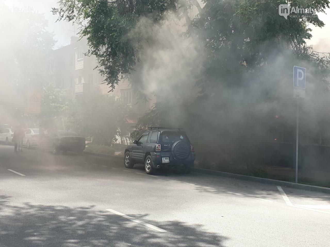 В Алматы горело турецкое кафе (фото), фото-1