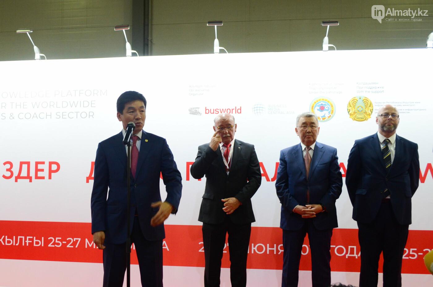 Новейшие автобусы из шести стран представили в Алматы, фото-1