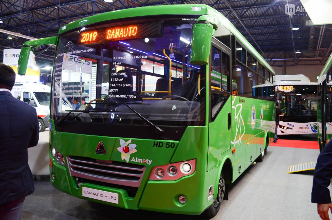 Новейшие автобусы из шести стран представили в Алматы, фото-7