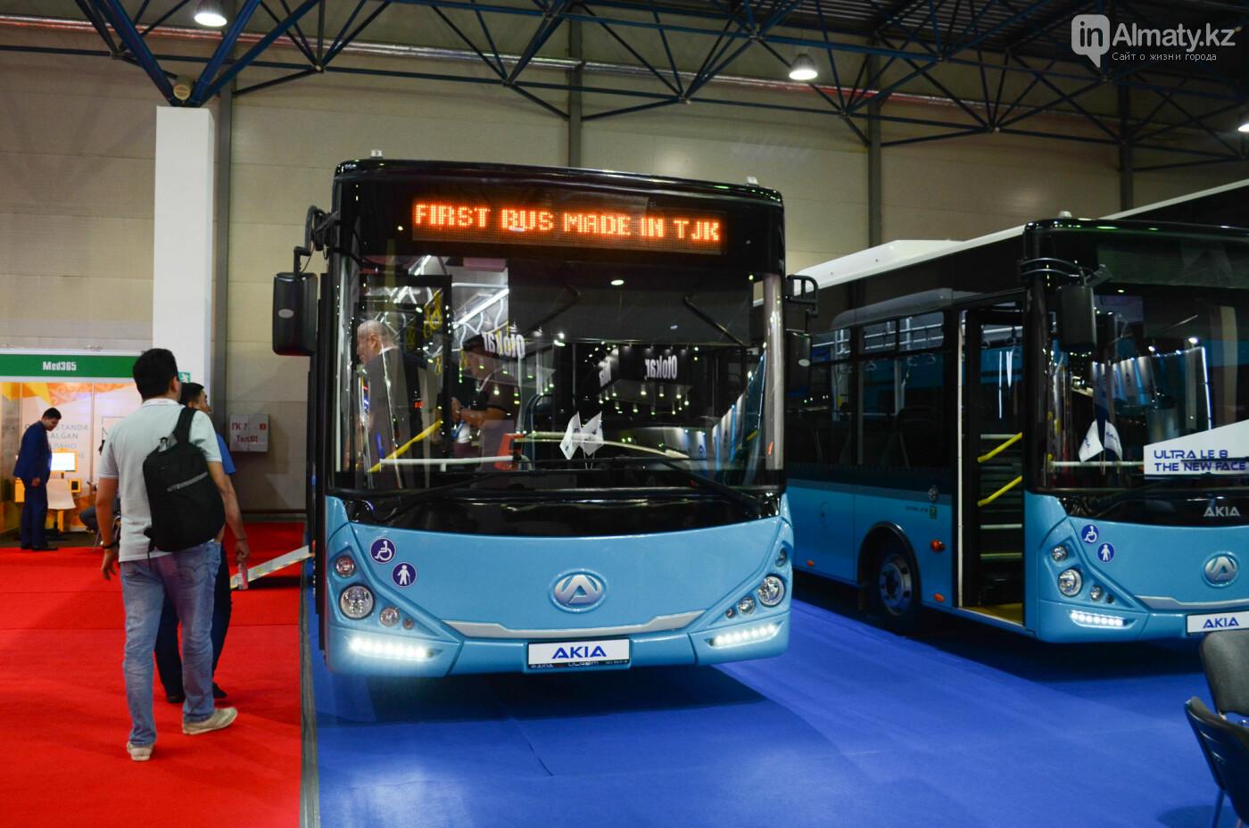 Новейшие автобусы из шести стран представили в Алматы, фото-4