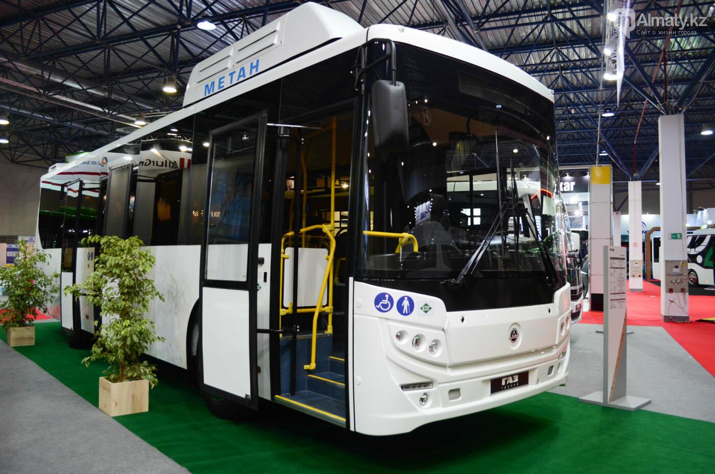 Новейшие автобусы из шести стран представили в Алматы, фото-6