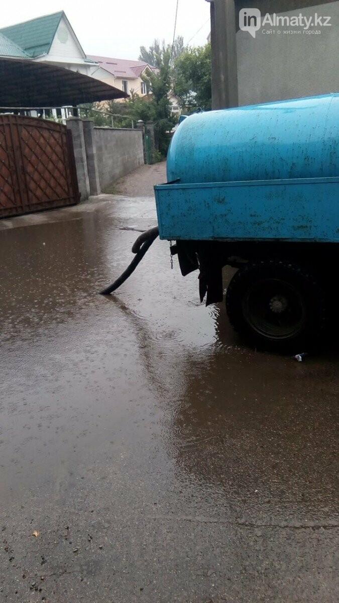Алматы вновь затопило после дождя (фото), фото-4