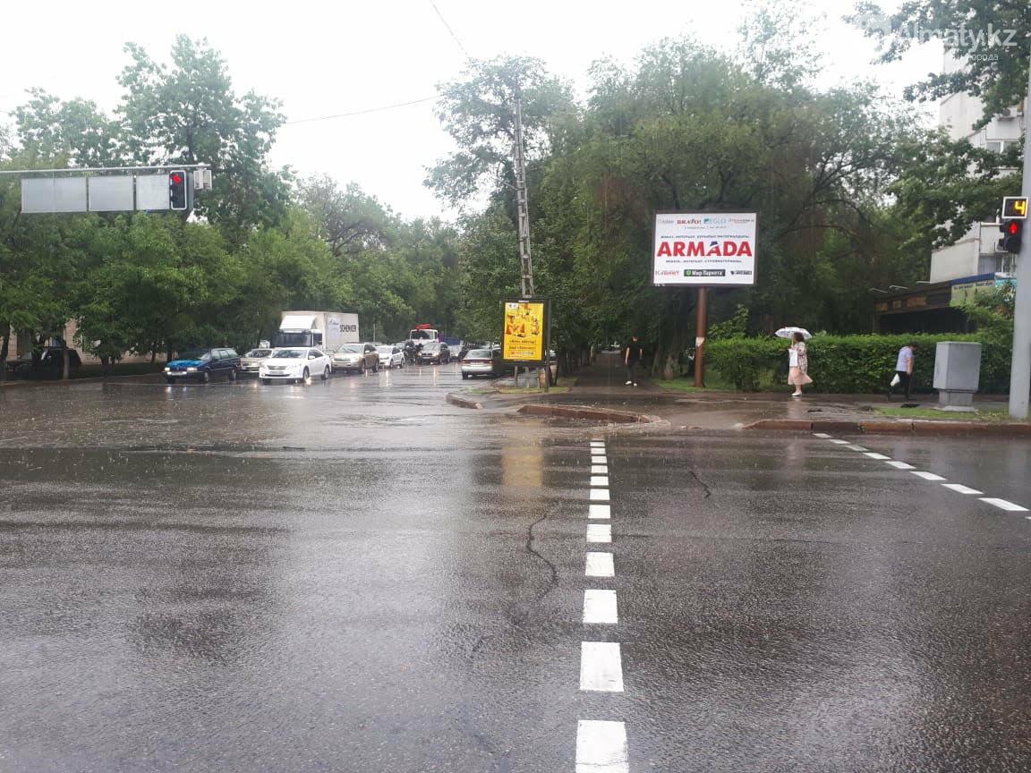 Алматы вновь затопило после дождя (фото), фото-5