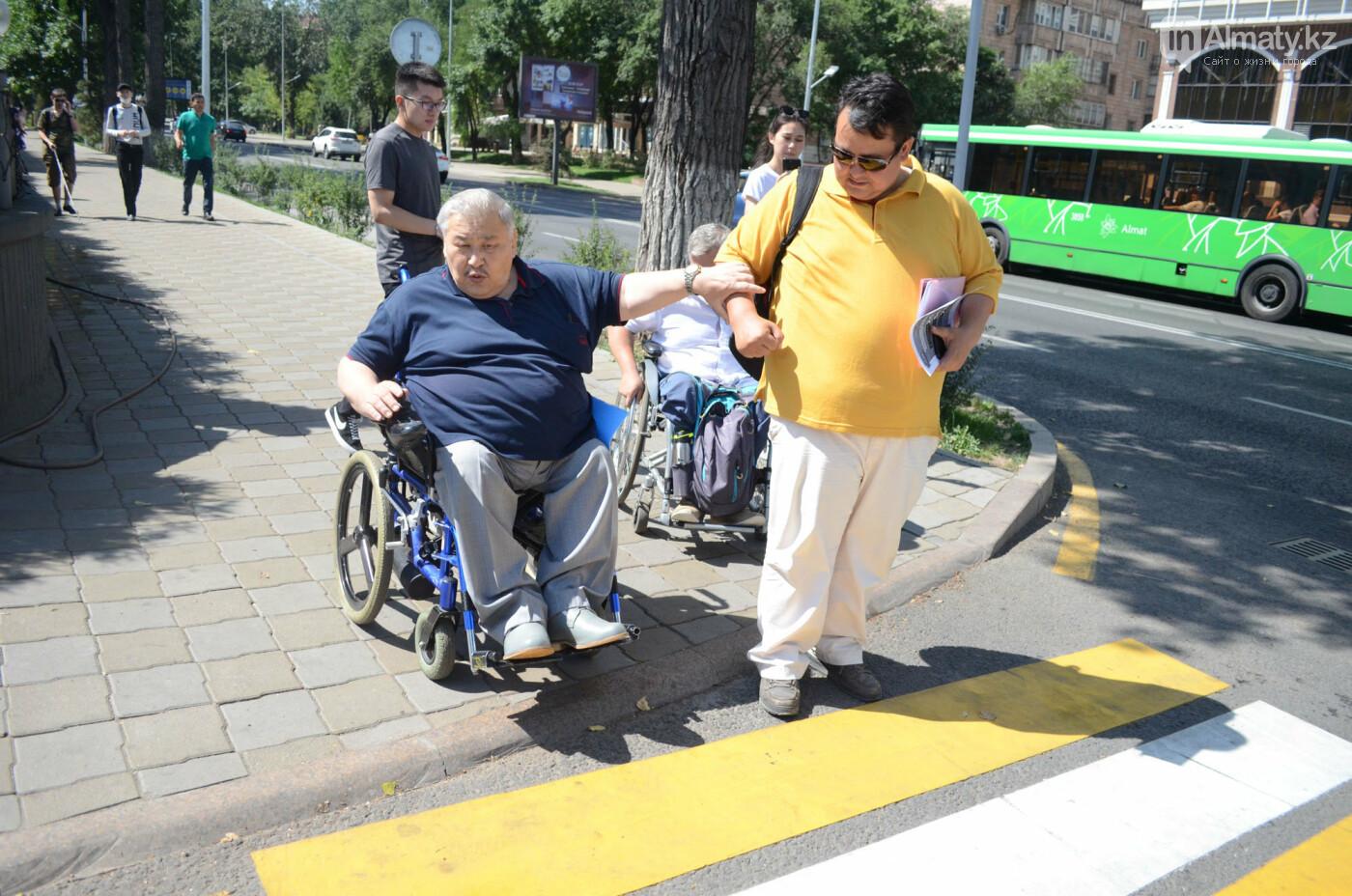 Недоступная среда: Почему реконструированная пешеходная зона по Назарбаева неудобна для инвалидов, фото-5