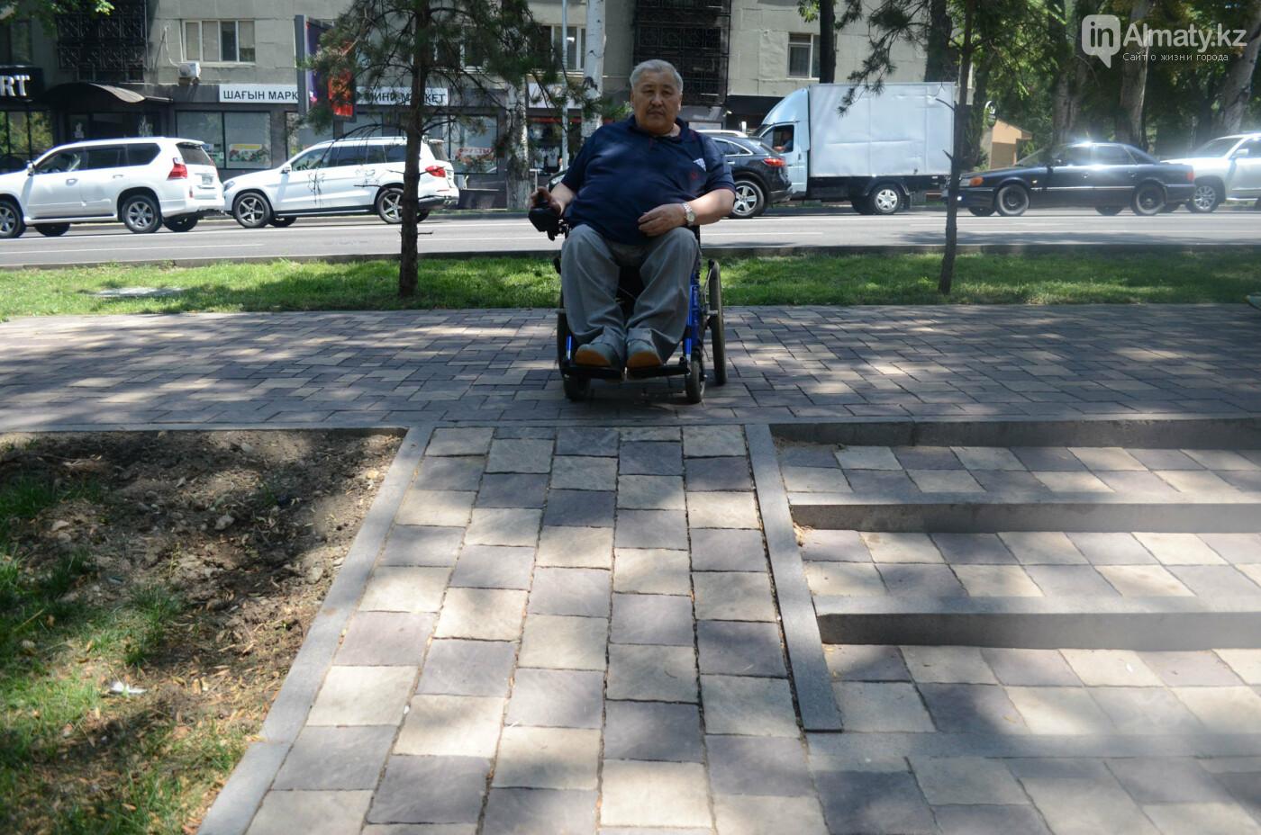 Недоступная среда: Почему реконструированная пешеходная зона по Назарбаева неудобна для инвалидов, фото-7