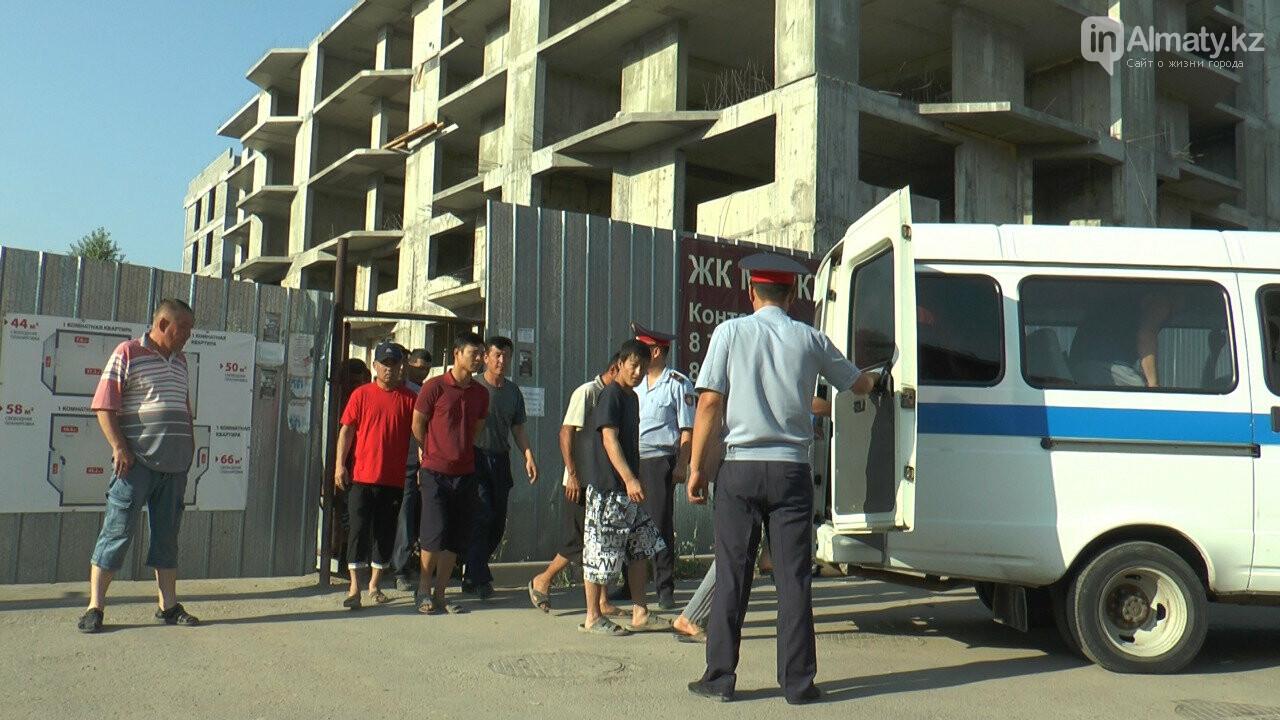 Узбекистанские гастарбайтеры жили на стройке алматинской многоэтажки (фото), фото-5