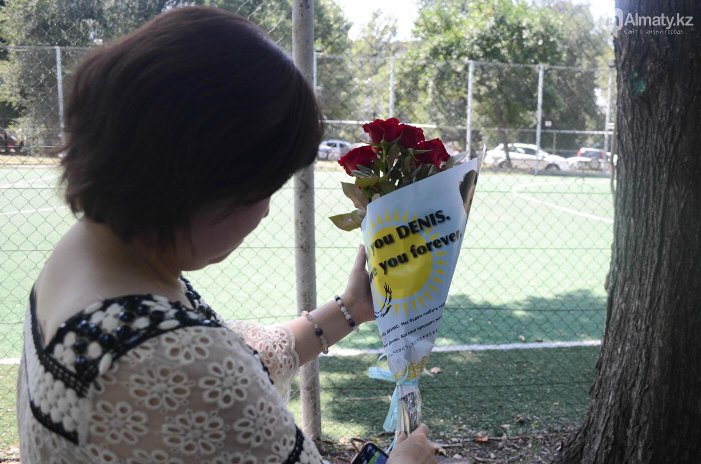 Родственники Дениса Тена и звезды фигурного катания почтили память фигуриста в Алматы, фото-2