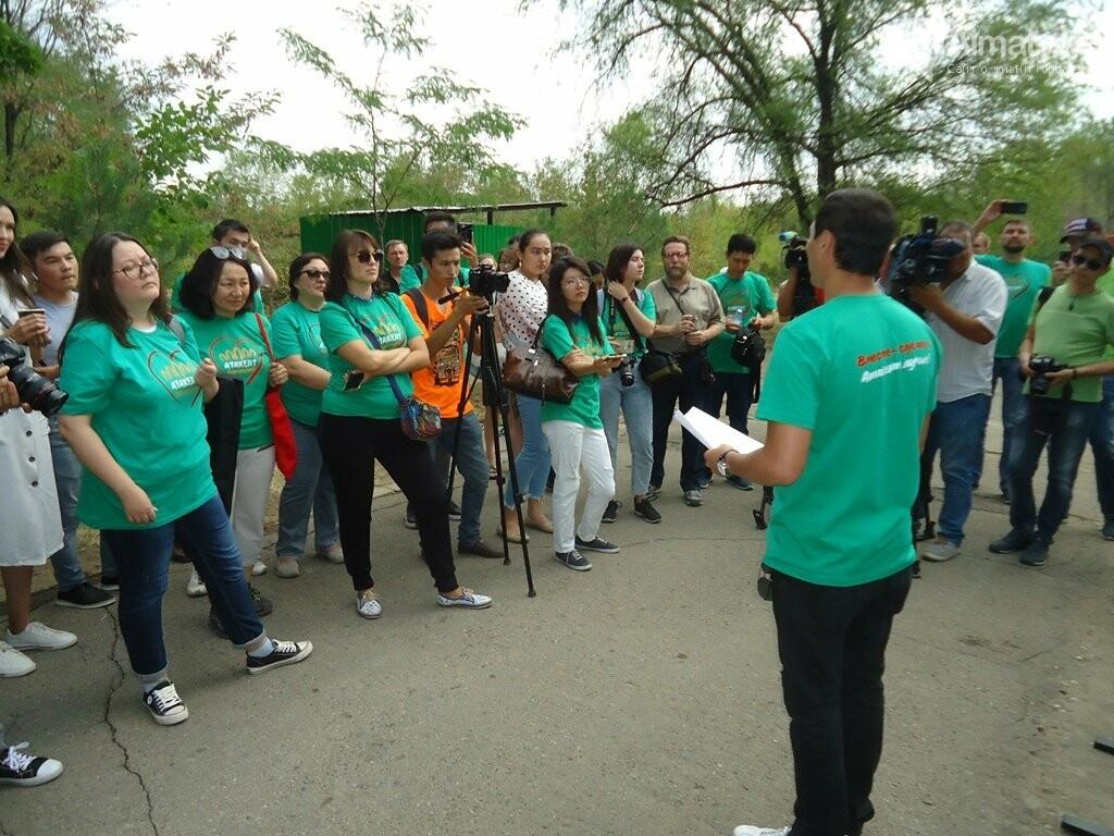 На Аллее журналистов в Алматы высадили яблони (фото), фото-4
