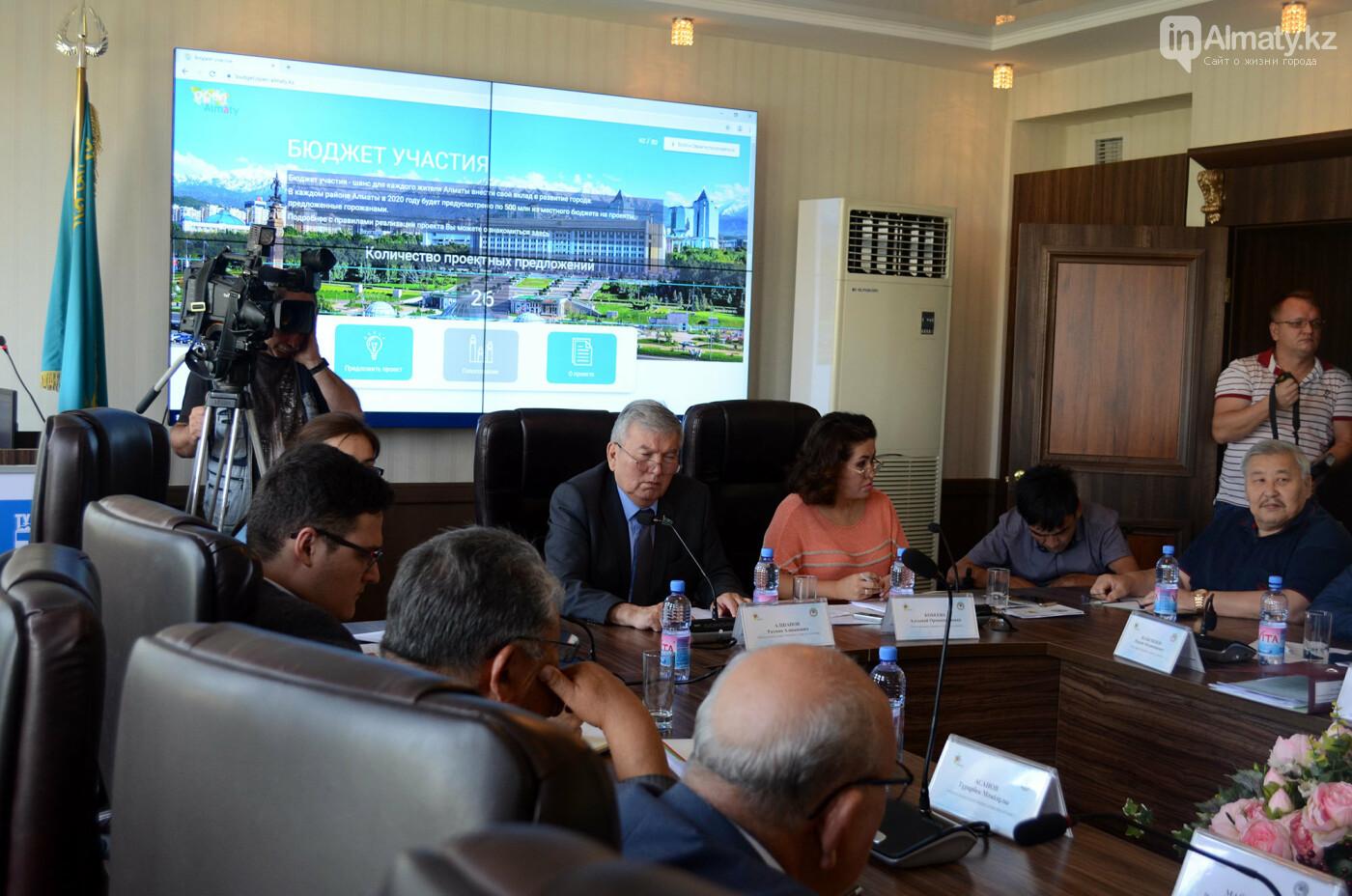 Проект «Бюджета участия» в Алматы отправили на доработку по предложению Общественного совета , фото-1