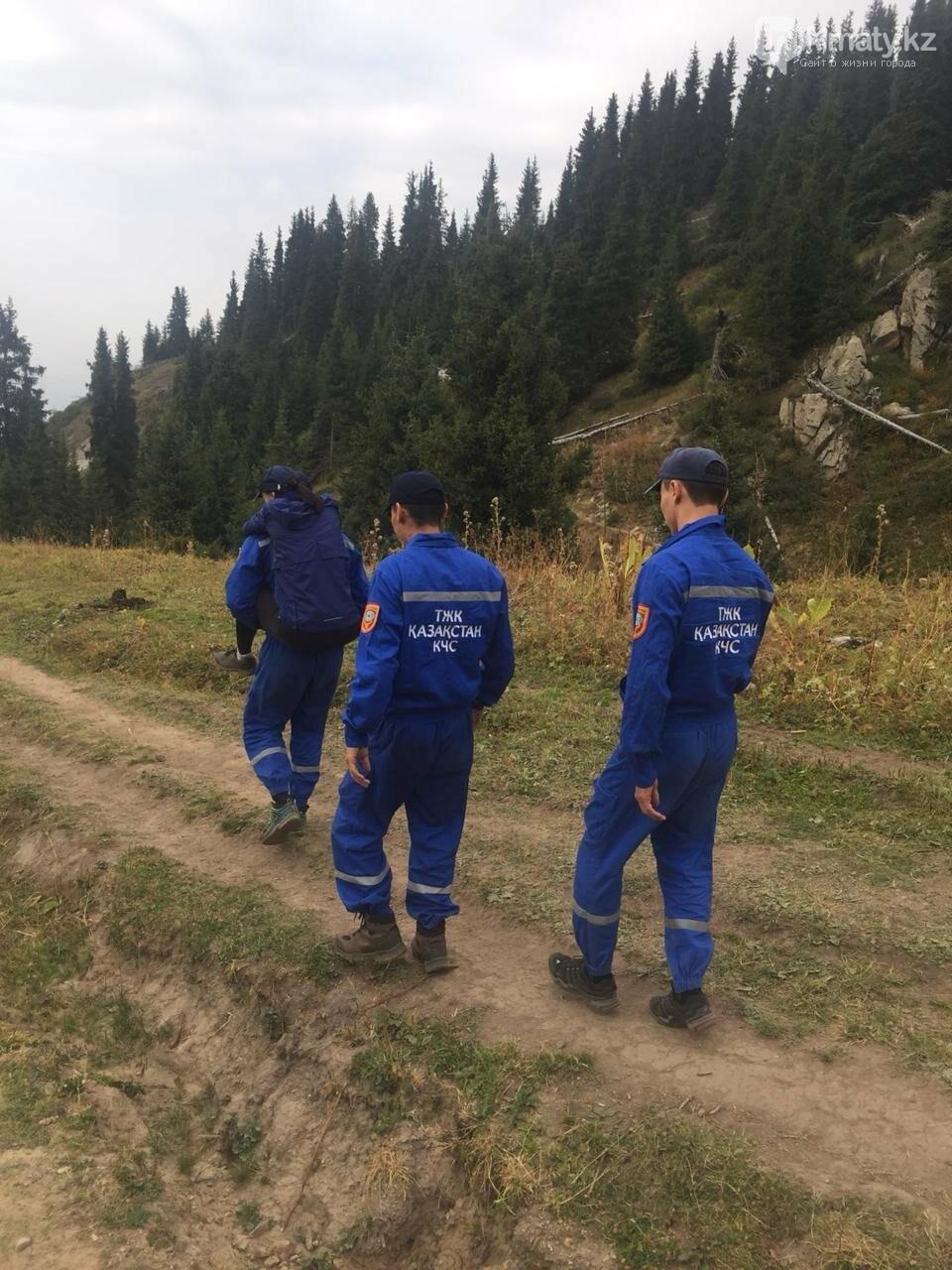 Туристок спасли в горах Алматы, фото-2
