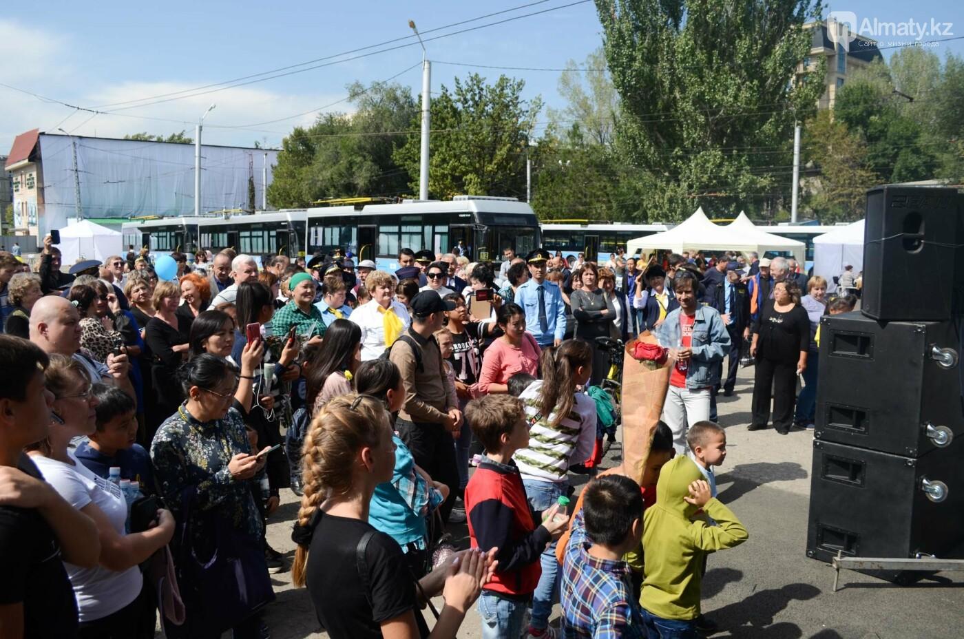 Юбилей троллейбуса отметили в Алматы (фото), фото-1