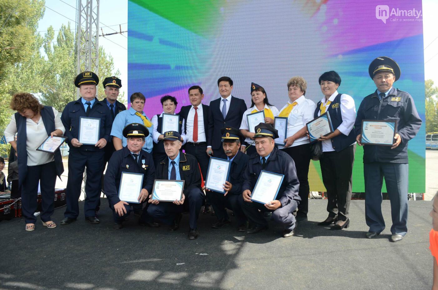 Юбилей троллейбуса отметили в Алматы (фото), фото-3