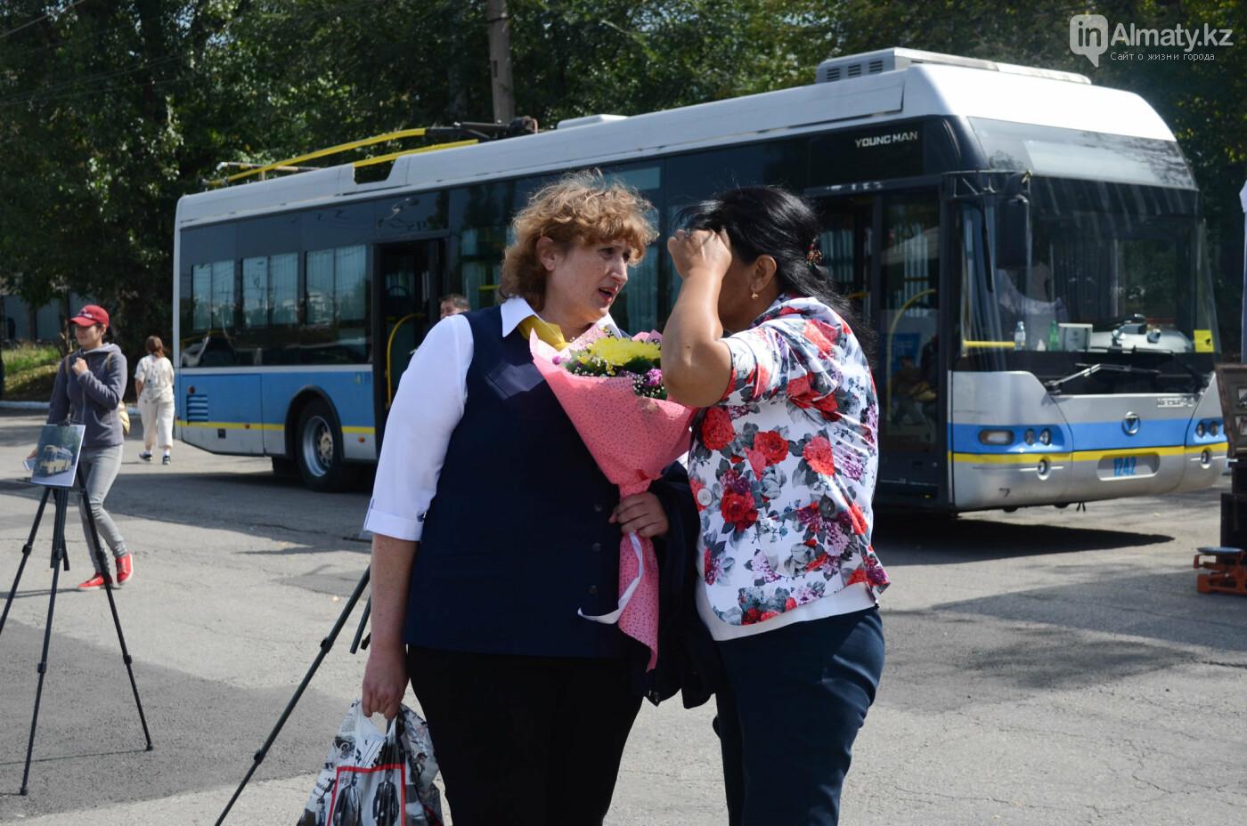 Юбилей троллейбуса отметили в Алматы (фото), фото-4