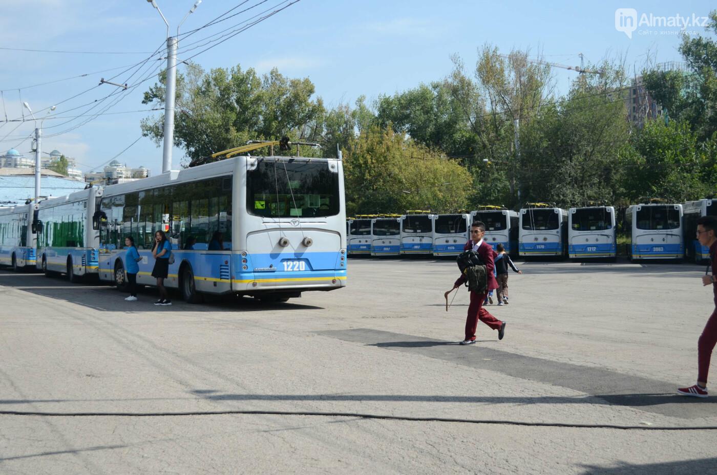 Юбилей троллейбуса отметили в Алматы (фото), фото-5