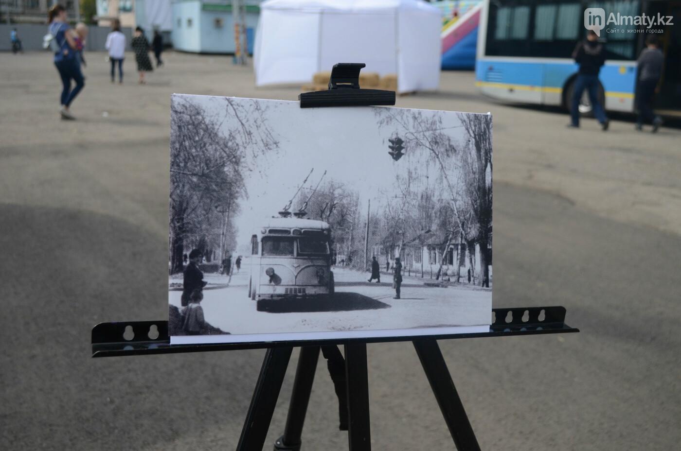 Юбилей троллейбуса отметили в Алматы (фото), фото-11