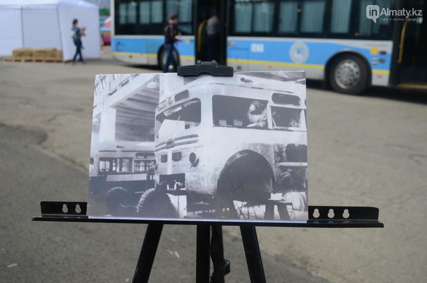 Юбилей троллейбуса отметили в Алматы (фото), фото-12