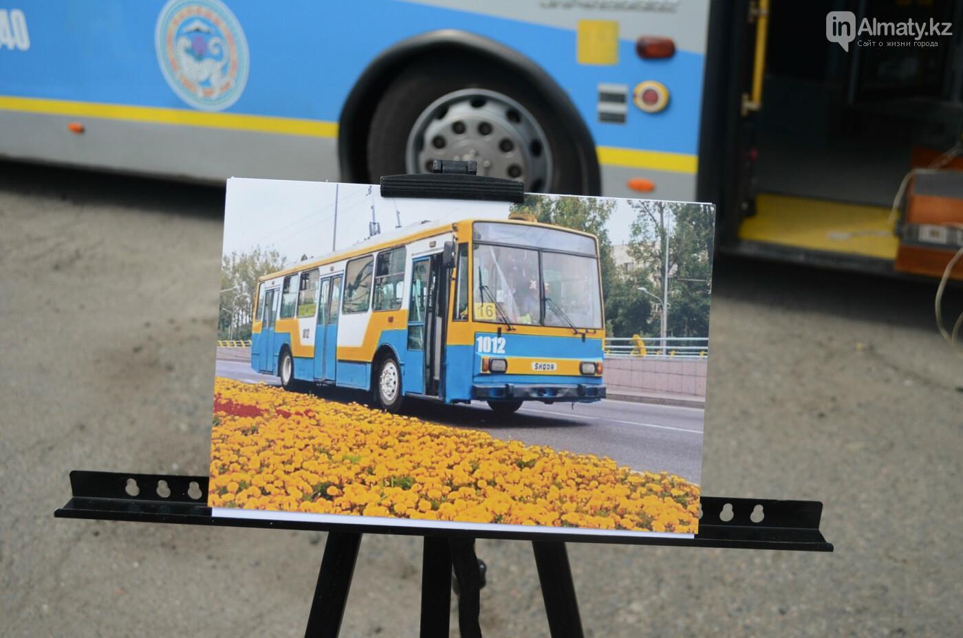 Юбилей троллейбуса отметили в Алматы (фото), фото-13