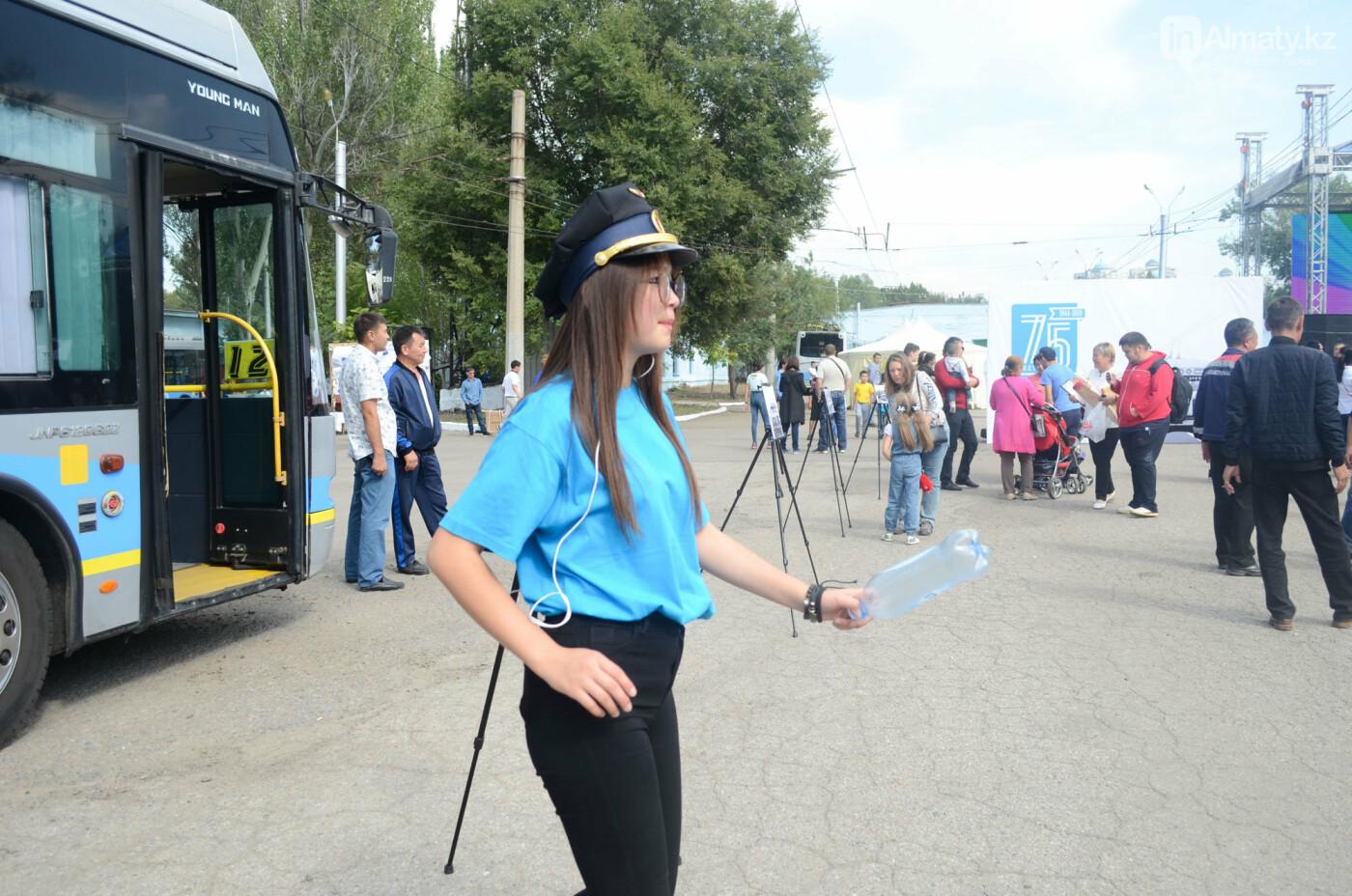 Юбилей троллейбуса отметили в Алматы (фото), фото-6