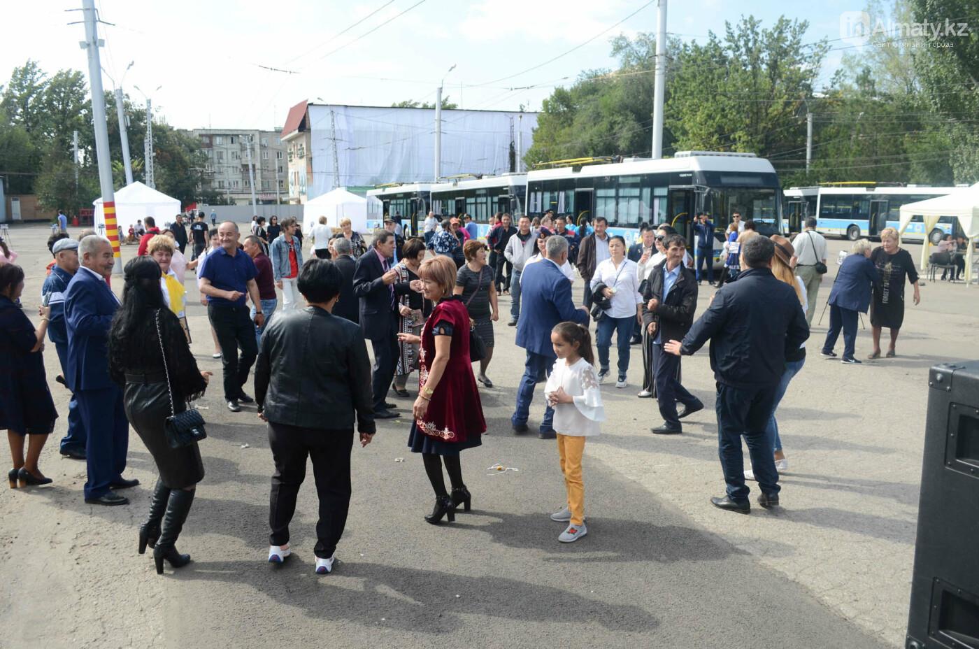 Юбилей троллейбуса отметили в Алматы (фото), фото-7