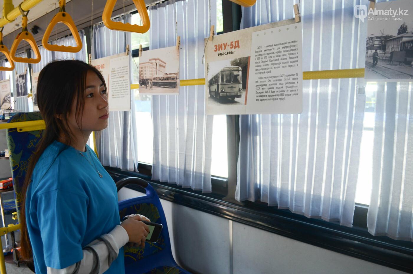 Юбилей троллейбуса отметили в Алматы (фото), фото-9