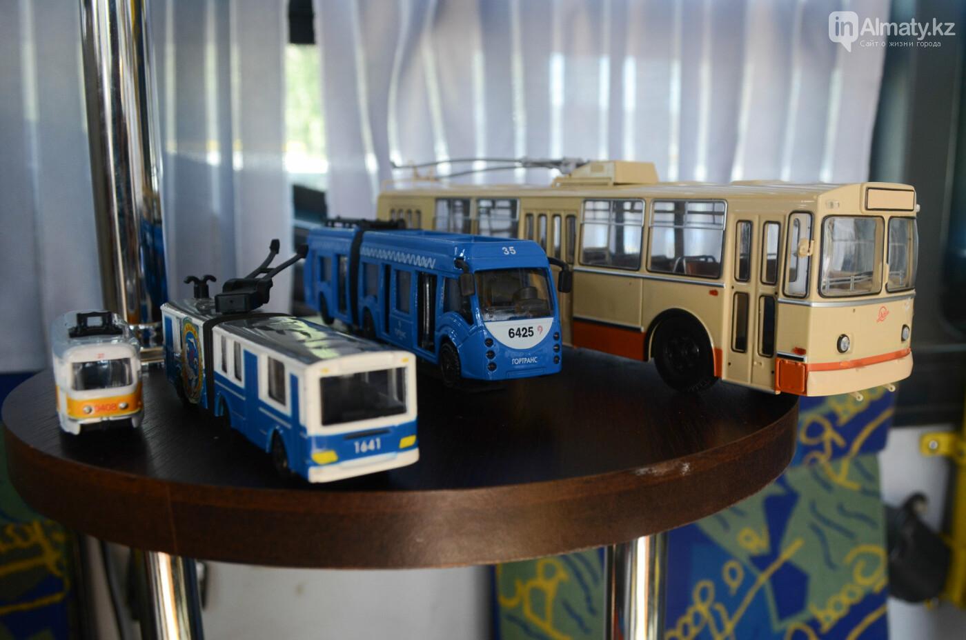 Юбилей троллейбуса отметили в Алматы (фото), фото-16