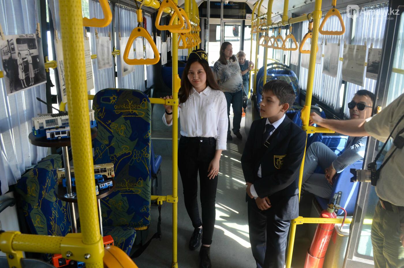 Юбилей троллейбуса отметили в Алматы (фото), фото-8