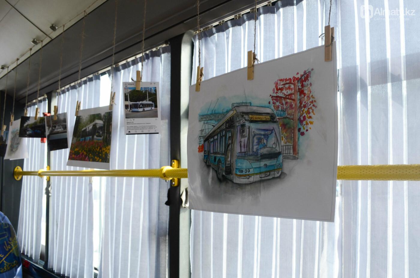 Юбилей троллейбуса отметили в Алматы (фото), фото-17