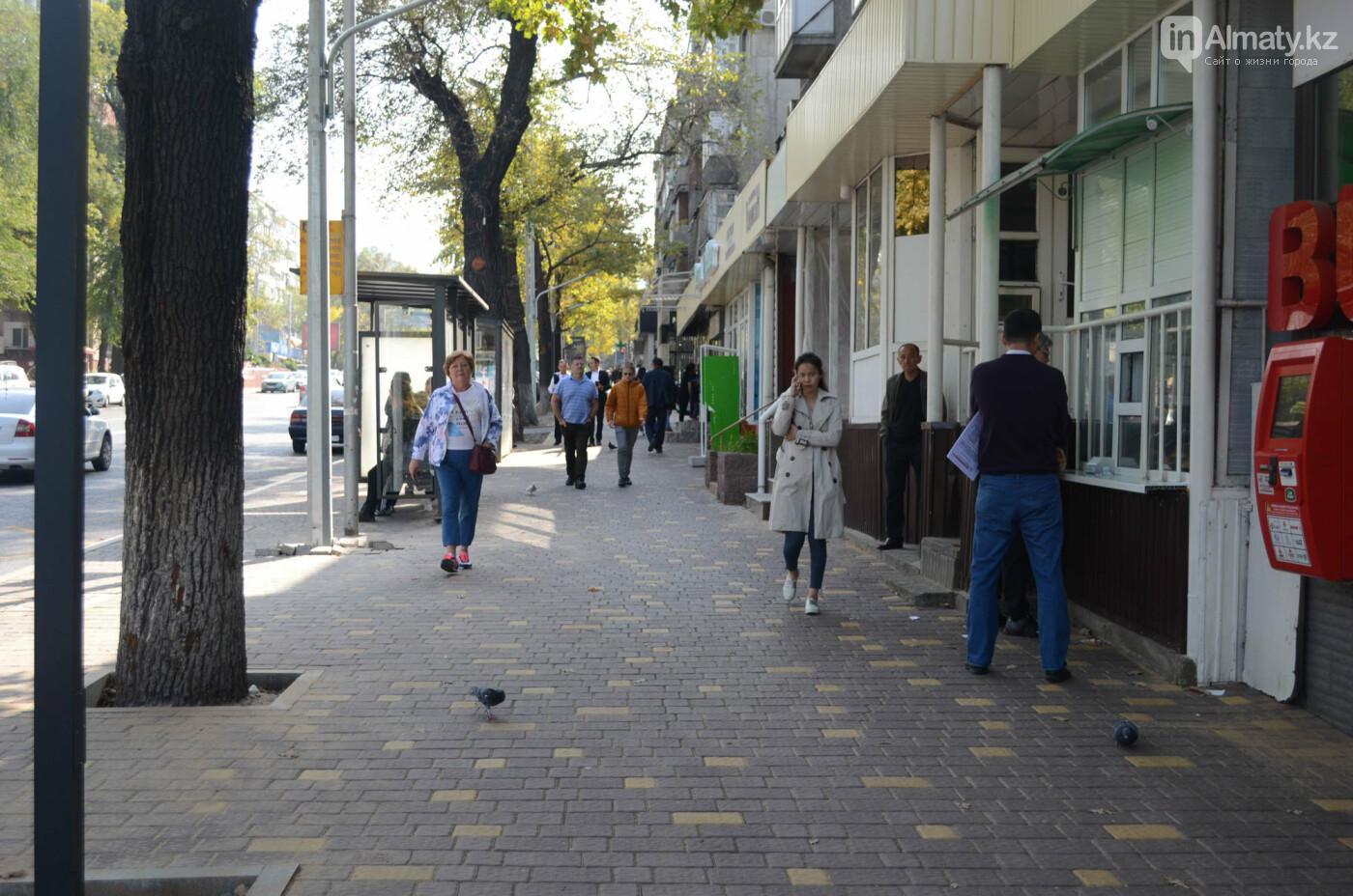 Как изменилась пешеходная часть проспекта Достык в Алматы (фото), фото-4