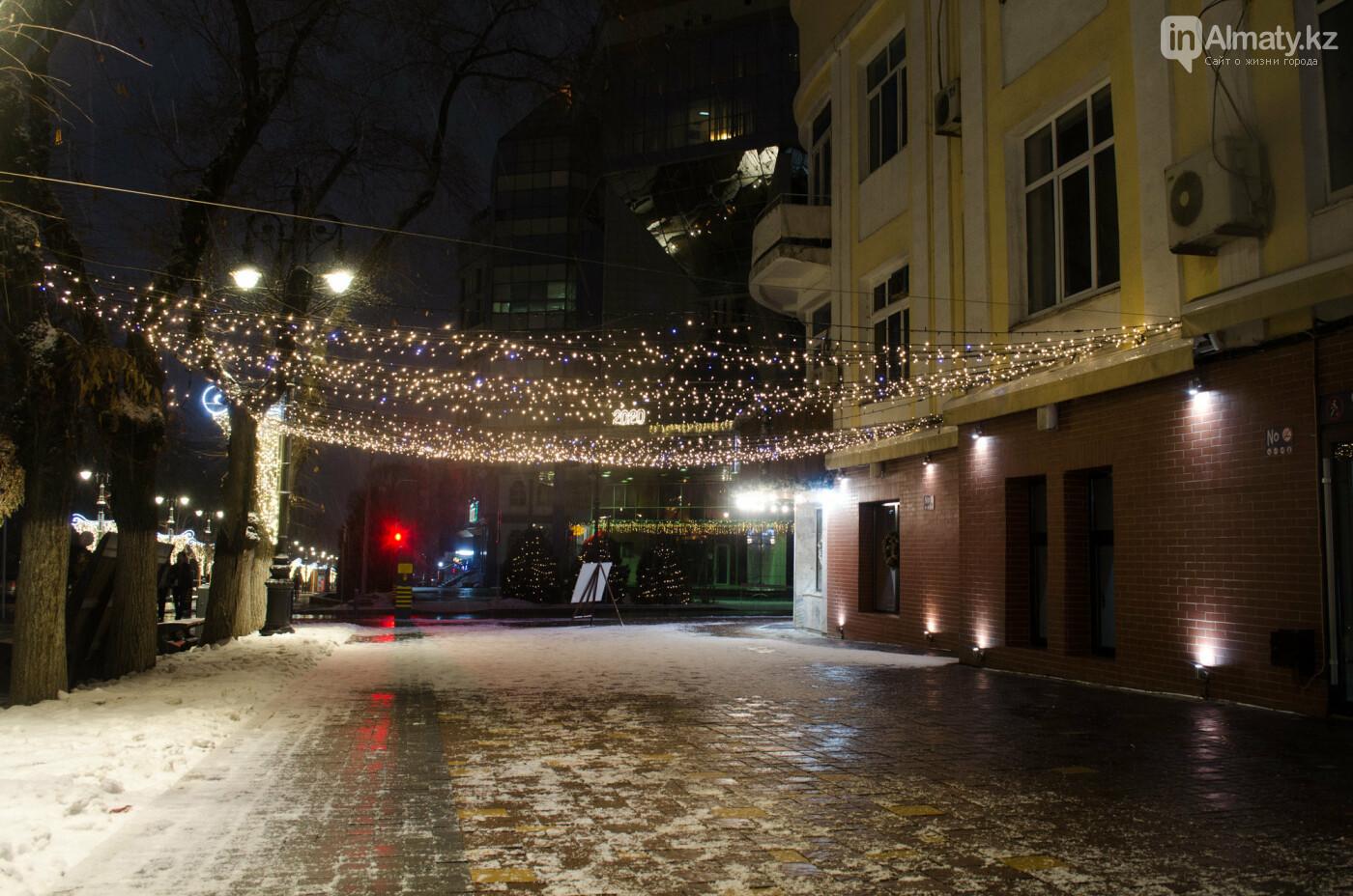 Как украшен центр Алматы к Новому году (фото), фото-28