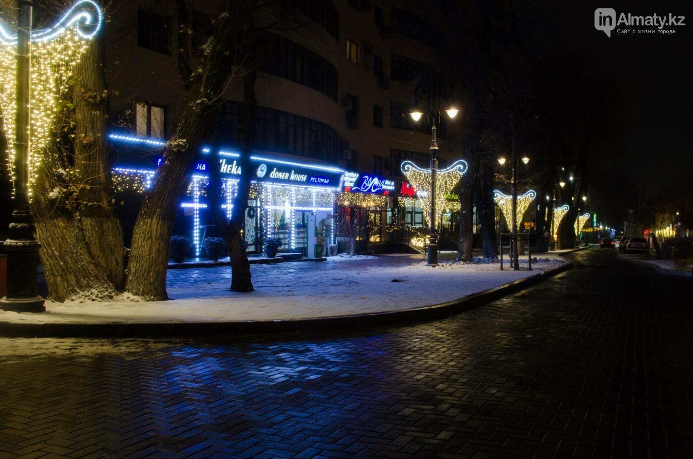Как украшен центр Алматы к Новому году (фото), фото-22