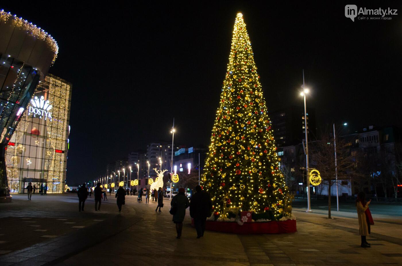 Как украшен центр Алматы к Новому году (фото), фото-4