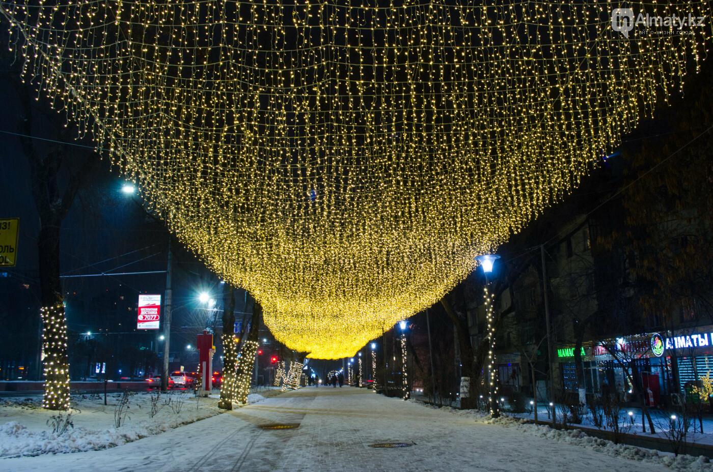 Как украшен центр Алматы к Новому году (фото), фото-16