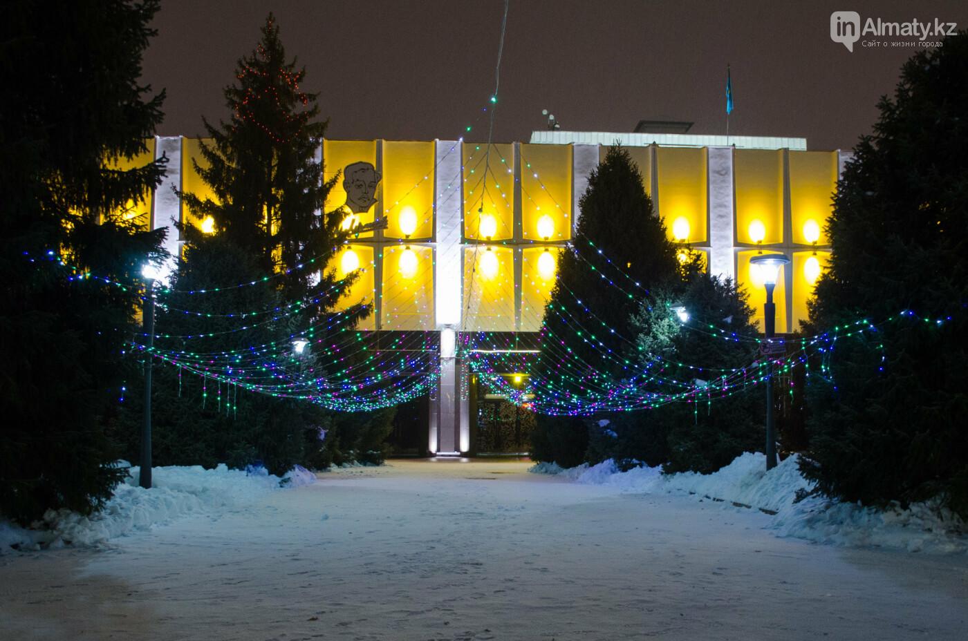 Как украшен центр Алматы к Новому году (фото), фото-14
