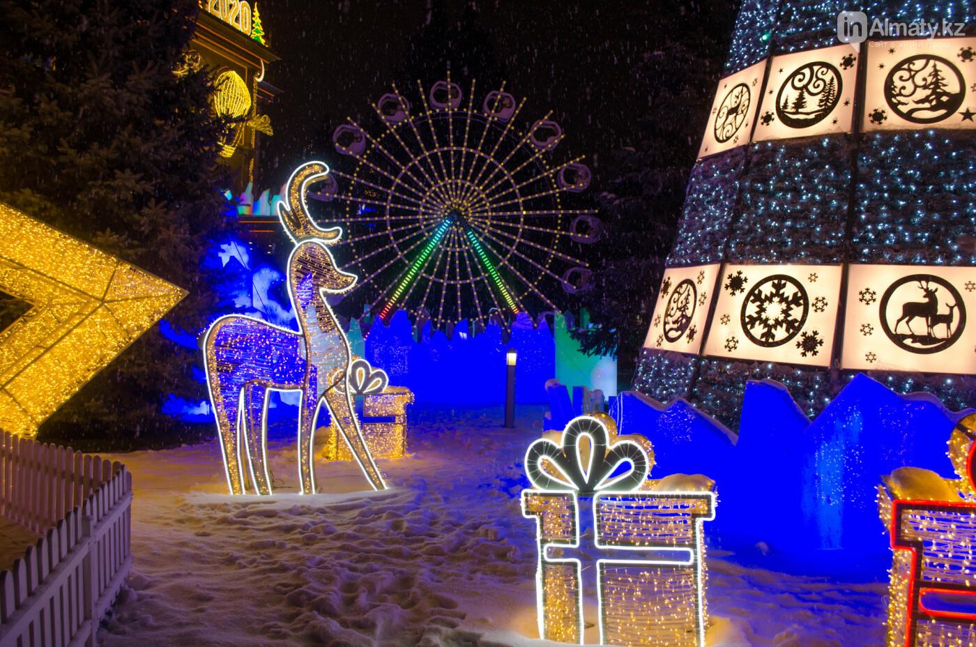 Как украшен центр Алматы к Новому году (фото), фото-18