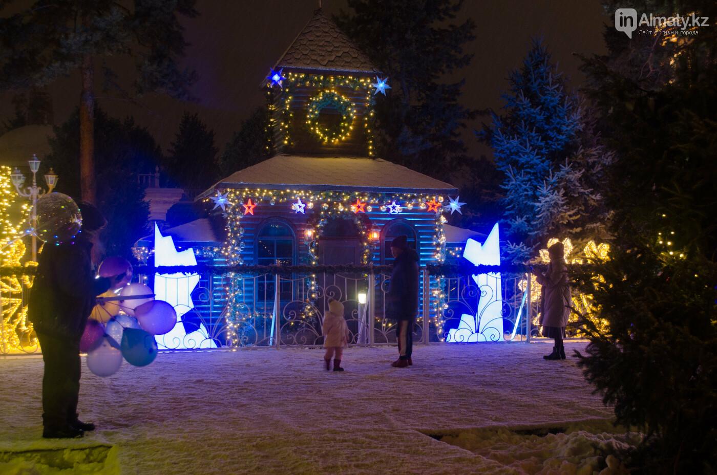 Как украшен центр Алматы к Новому году (фото), фото-21