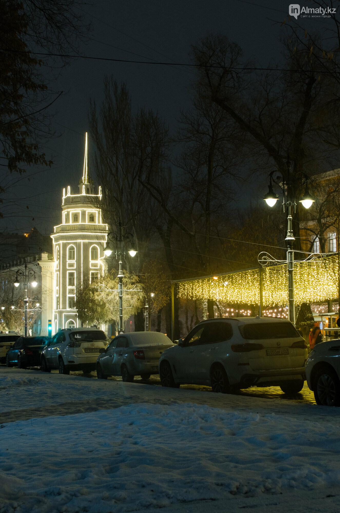Как украшен центр Алматы к Новому году (фото), фото-32