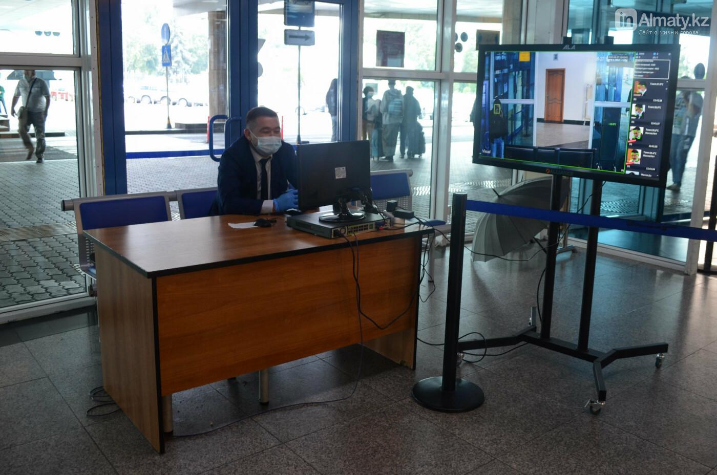 Как работает Международный аэропорт в Алматы в условиях карантина. Фото, фото-2