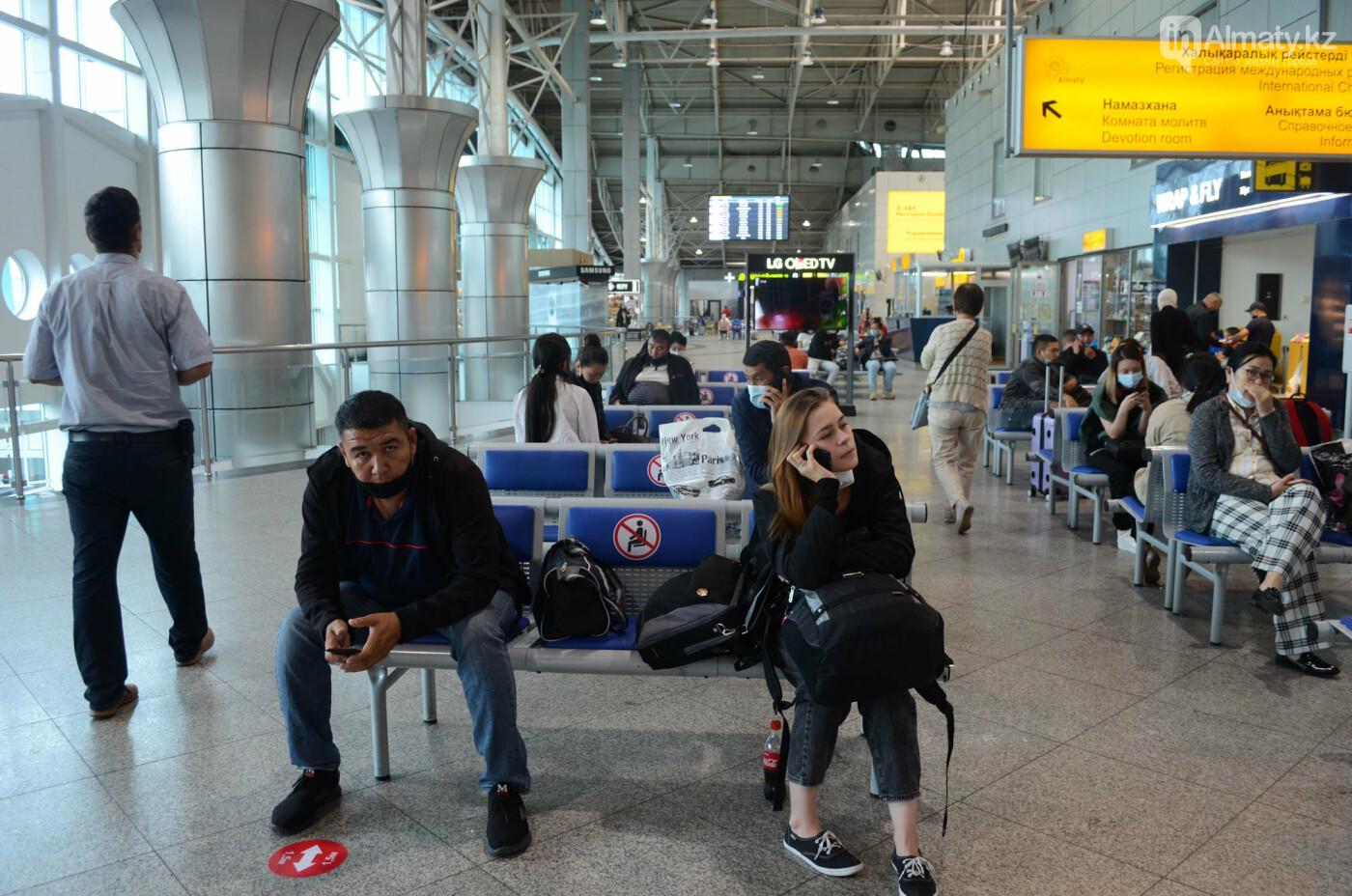 Как работает Международный аэропорт в Алматы в условиях карантина. Фото, фото-5